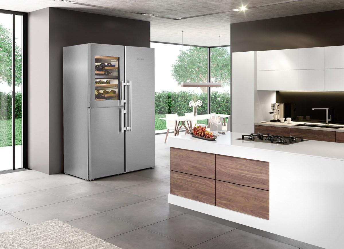 Kitchenaid Kühlschrank Side By Side : Liebherr side by side kühlschrank premiumplus mit biofresh und