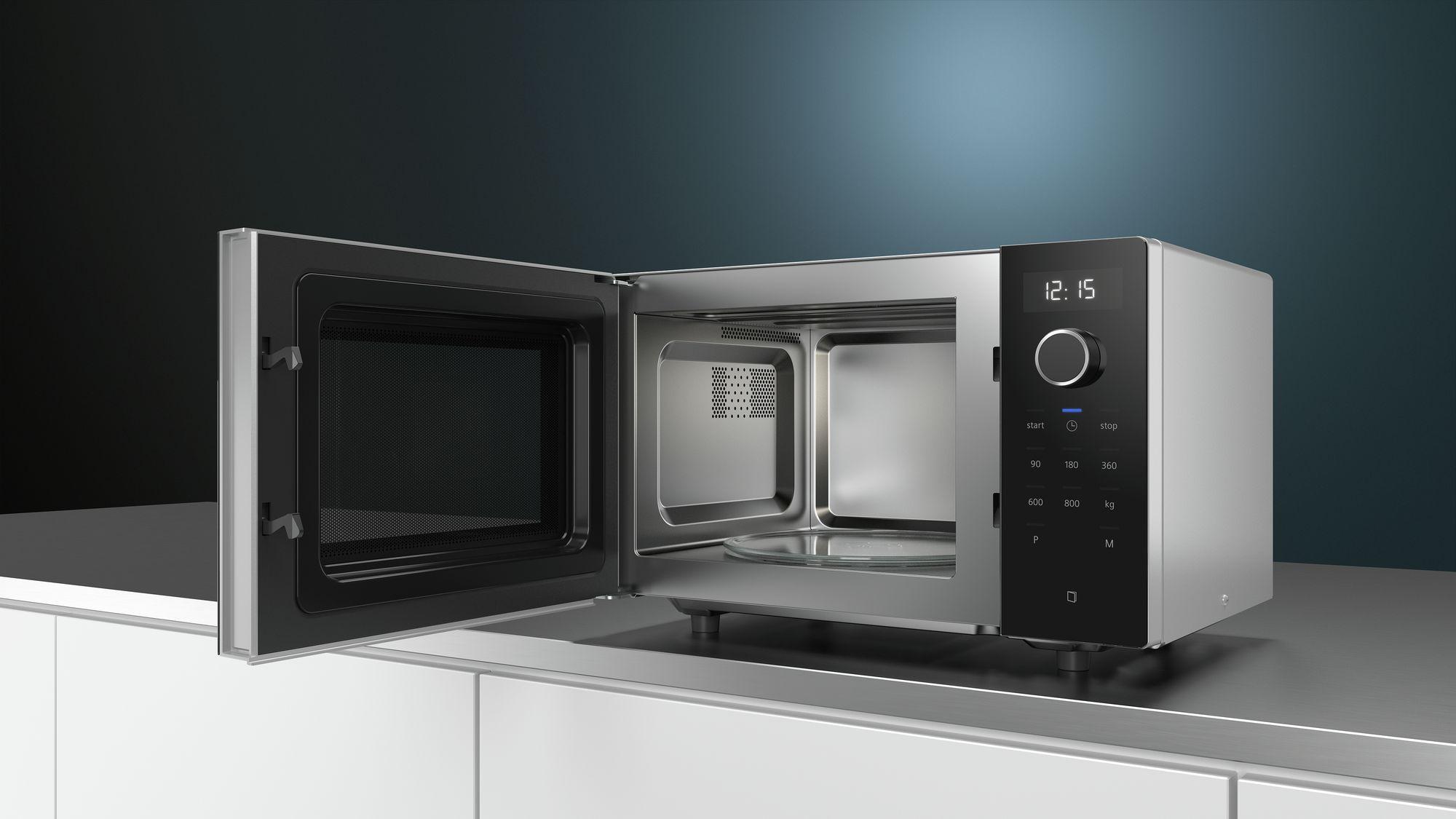 Siemens Kühlschrank Schwarz : Siemens freistehende mikrowelle schwarz ff513mmb0 psi24.com