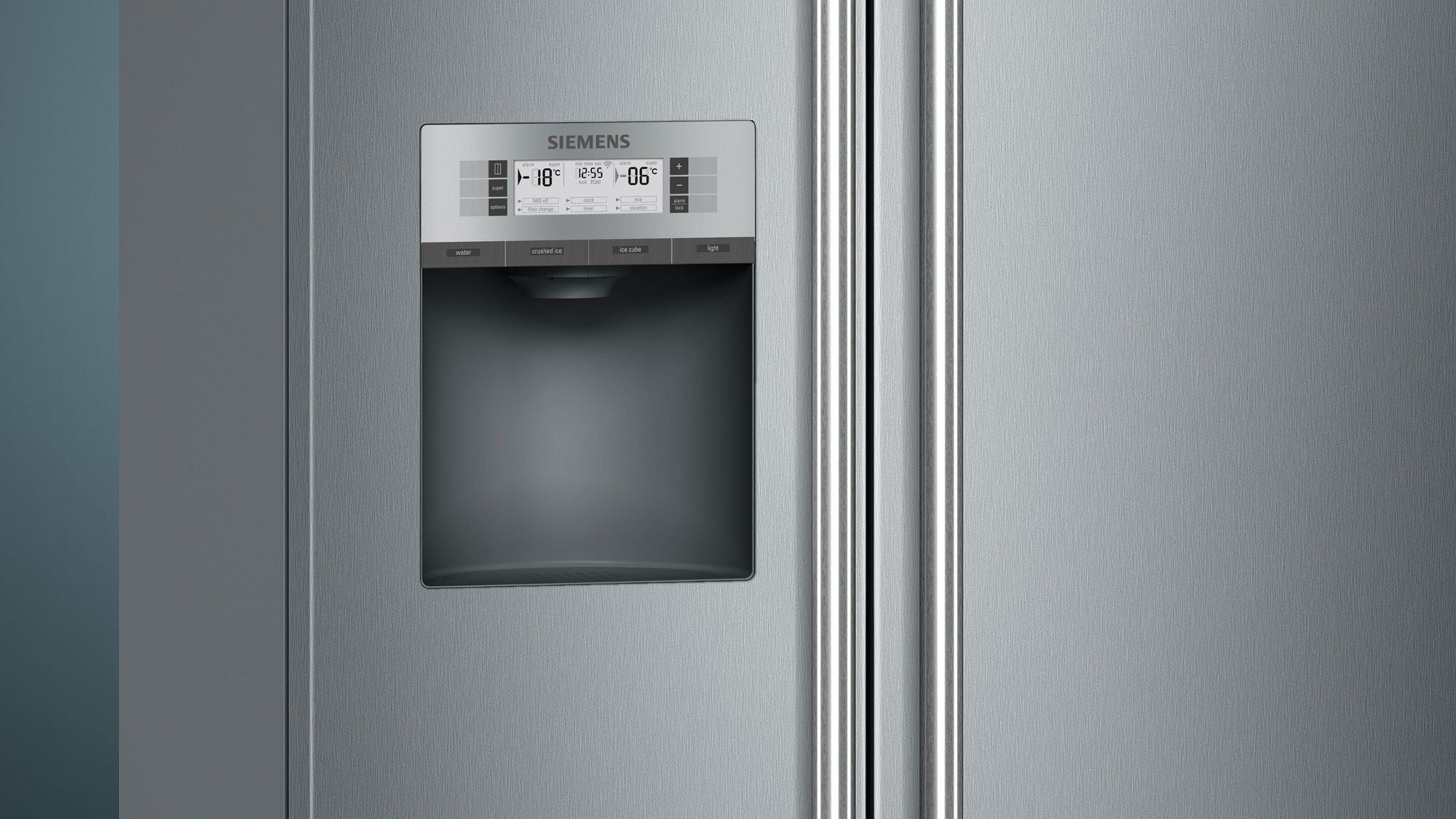 Side By Side Kühlschrank Geizhals : Siemens set side by side kühl gefrierkombination edelstahl