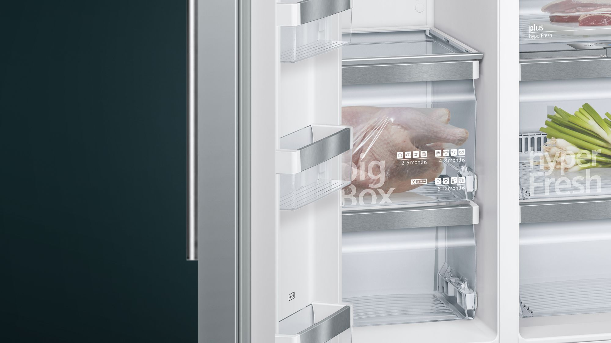 Side By Side Kühlschrank Ratenkauf : Siemens set side by side kühl gefrierkombination edelstahl