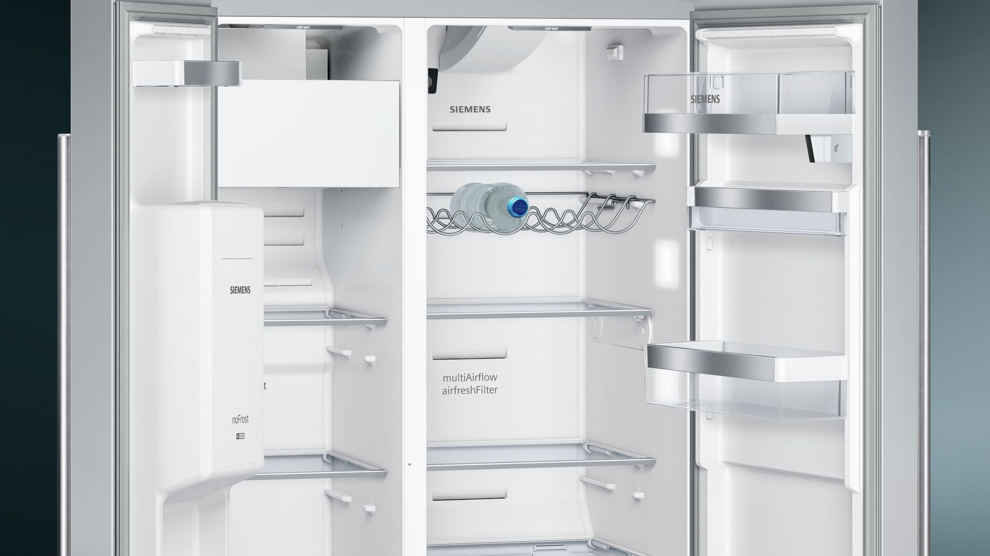 Bosch Kühlschrank Iwd Off : Siemens set side by side kühl gefrierkombination edelstahl