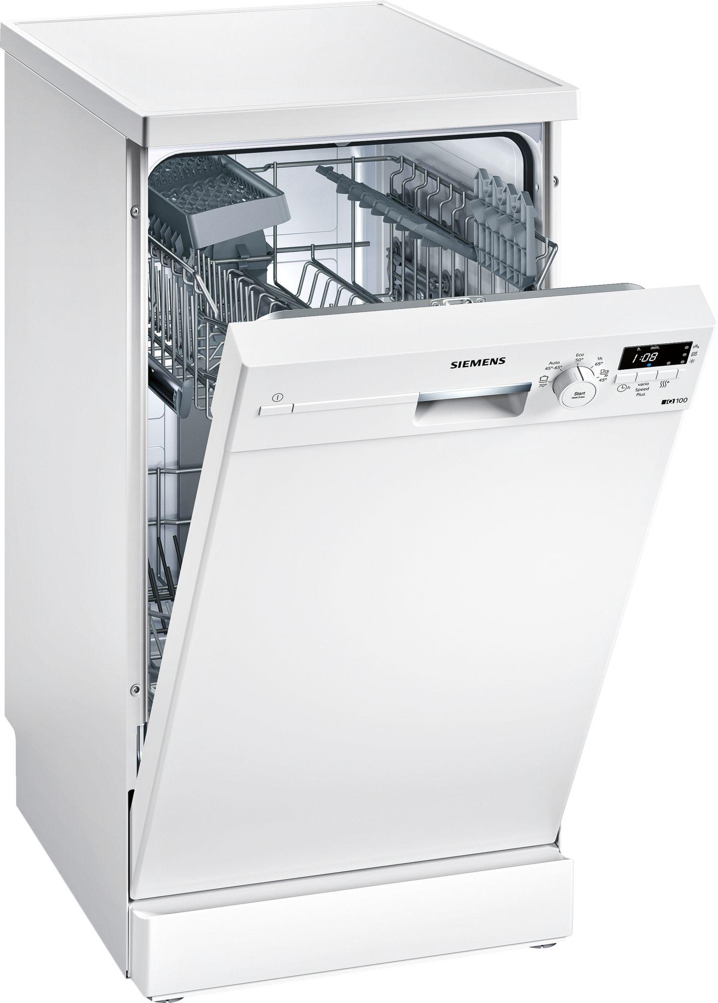 Siemens Geschirrspüler SpeedMatic Stand Weiß 45 Cm SR215W03CE Pictures