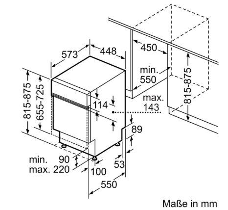 siemens extraklasse geschirrsp ler speedmatic45 made in germany integrierbar edelstahl 45 cm. Black Bedroom Furniture Sets. Home Design Ideas