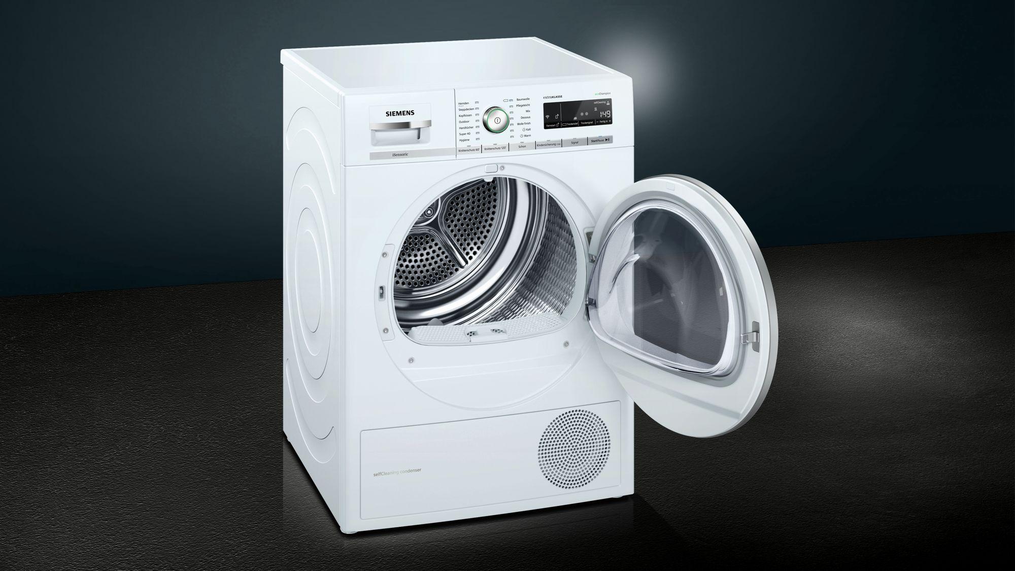 Trockner Siemens Iq700 : Siemens iq wärmepumpentrockner isensoric wt wh psi