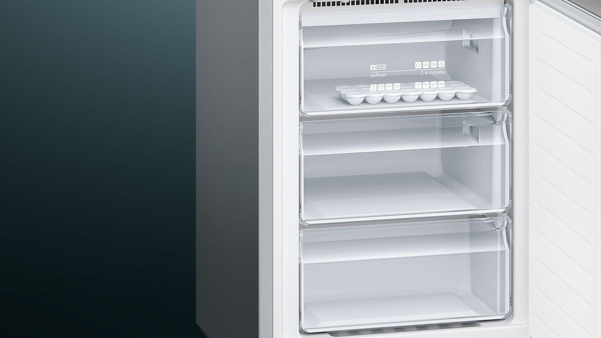 Siemens Kühlschrank No Frost : Siemens kühl gefrier kombination nofrost türen edelstahl