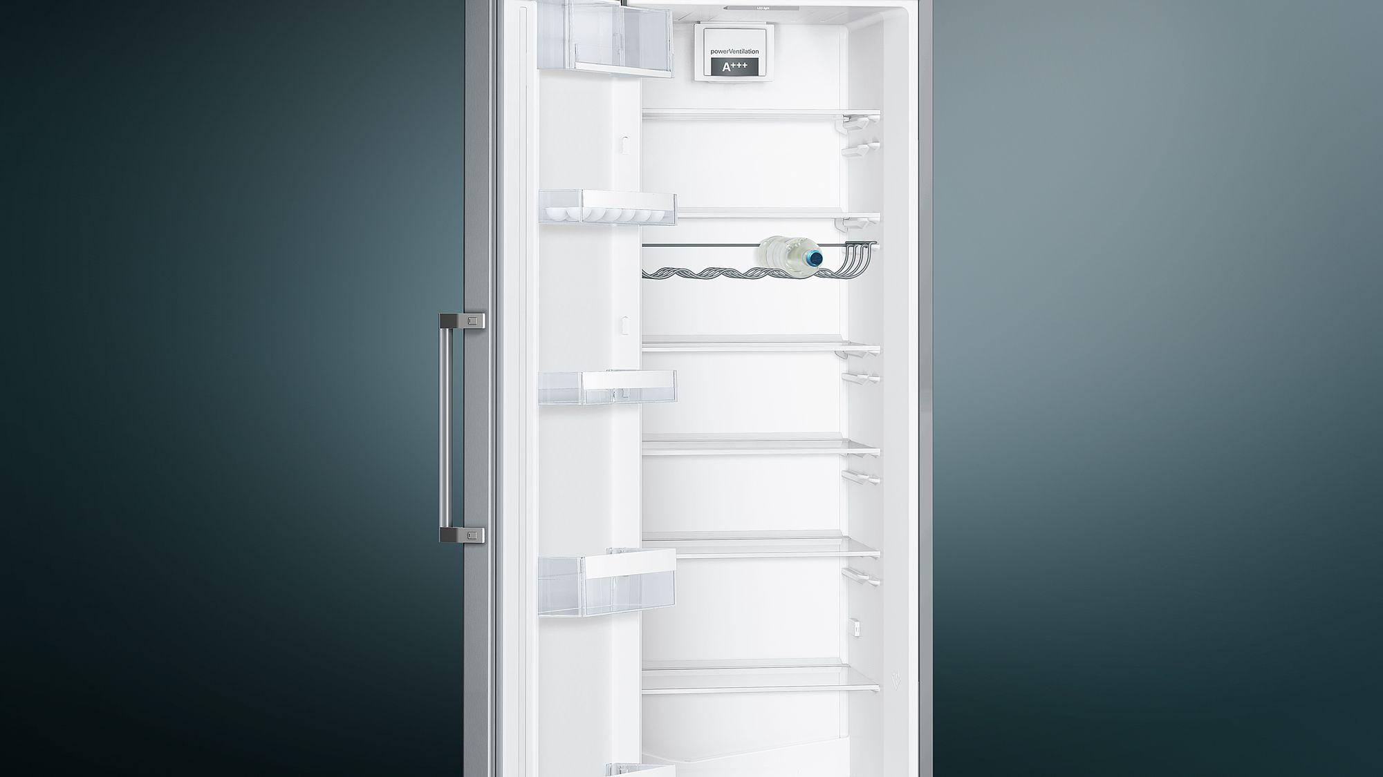 Siemens Kühlschrank Silber : Siemens stand kühlschrank iq türen edelstahl look ks vvl p